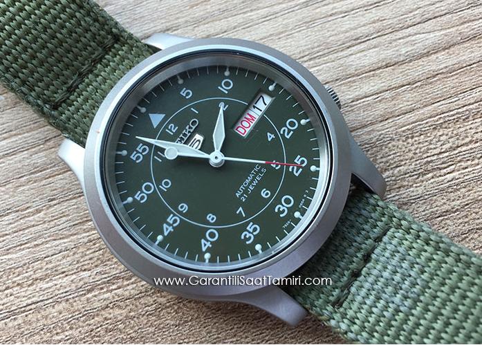 Seiko 5 - Otomatik Saat Tamir Bakım İşlemi - 7S26 Kalibre
