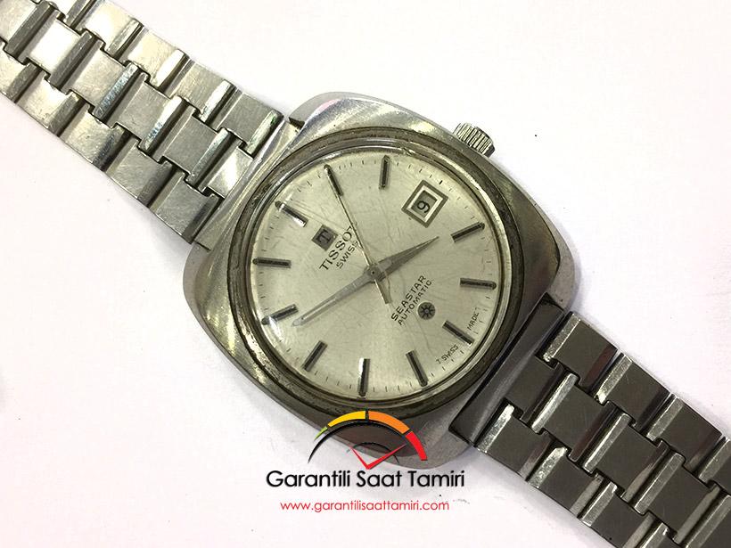 Tissot Seastar Otomatik Saat Tamiri ve Bakımı - Tissot 784-2 Kalibre