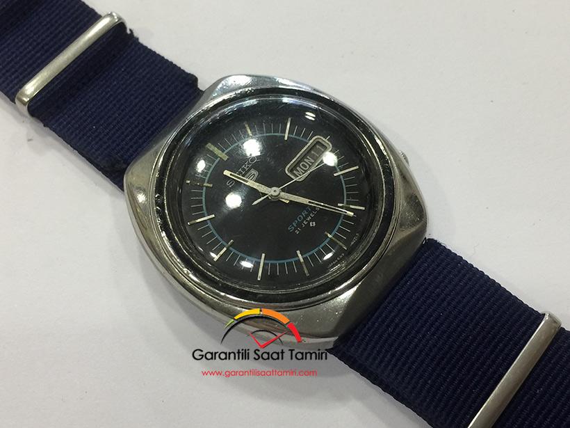 Seiko 5 Sports Otomatik Saat Tamiri ve Bakımı - Seiko 6319 Kalibre