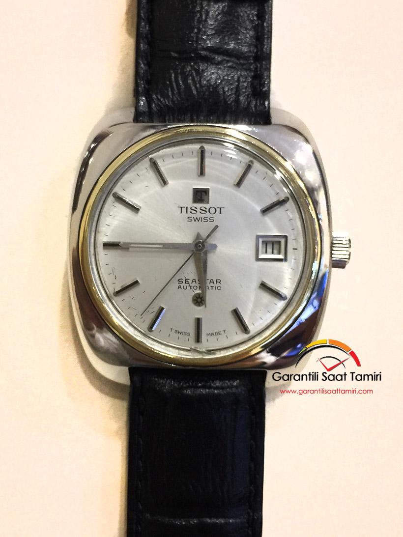 Tissot Seastar Otomatik Saat Çizik Silme ve Polisaj İşlemi
