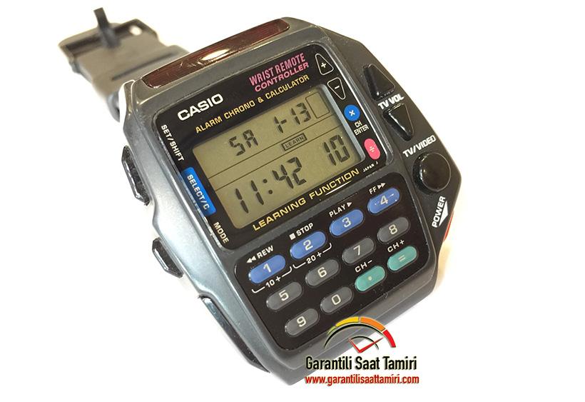 Casio CMD-40 Kumandalı Saat - Casio Cam Çizik Silme İşlemi