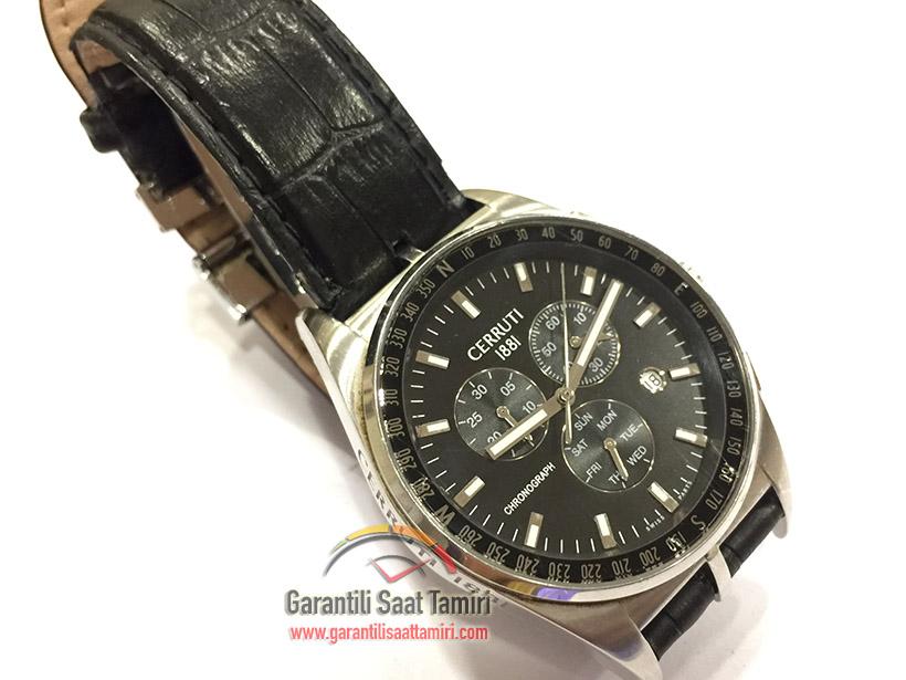 Cerruti 1881 Chronograph Saat Tamiri ve Bakımı - Ronda 5030 Kalibre