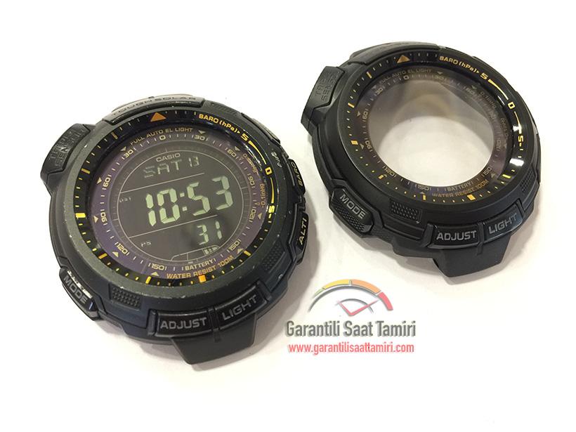 Casio PRG-110Y-1VDR Pro-Trek Orijinal Kasa Değişimi