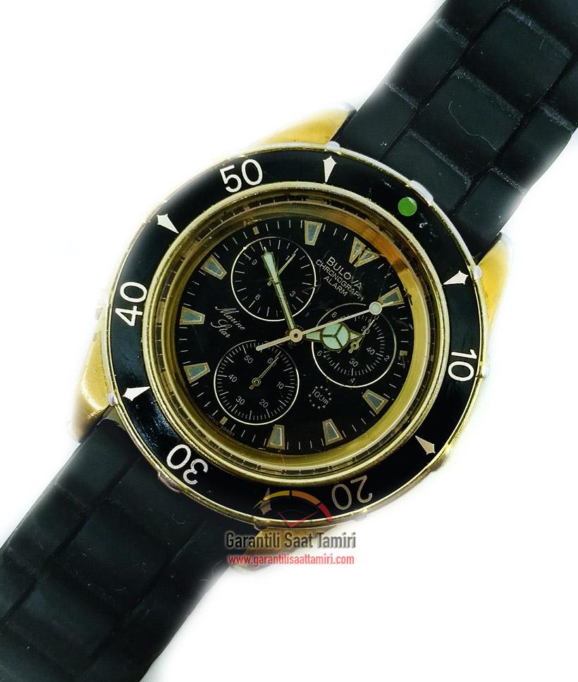 Bulova Marine Star Alarm Chronograph Saat Tamiri