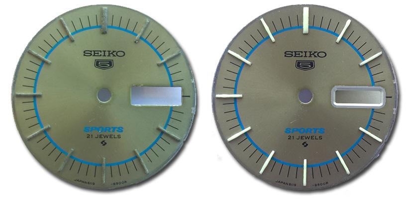 Seiko 5 Saat Kadranı Yenileme