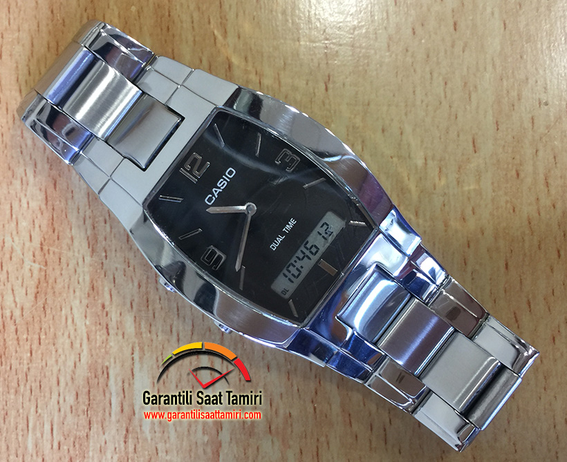 Casio Saat Çizik Silme ve Polisaj İşlemi