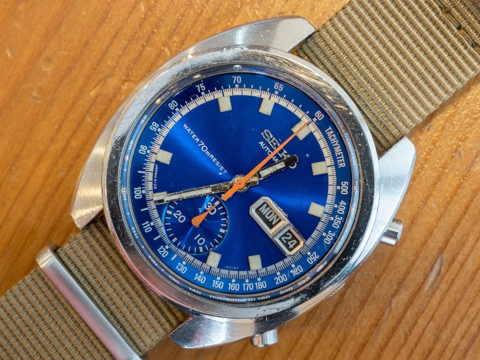 Seiko 6139-6015 Otomatik Saat Tamiri ve Bakımı - Seiko 6139 Kalibre