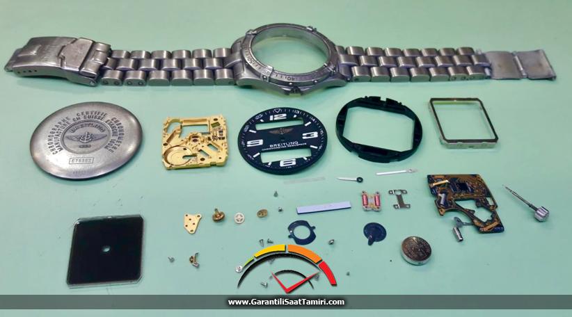 Breitling Aerospace Evo Saat Tamir ve Bakımı - Eta E10.351 Kalibre