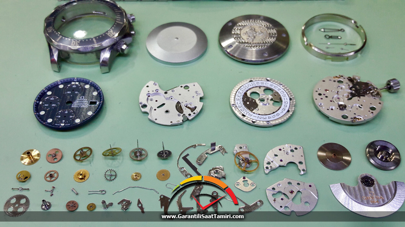 Omega Seamaster Professional Chronometer - Eta Valjoux 7750 Kalibre / Omega 1164 Kalibre