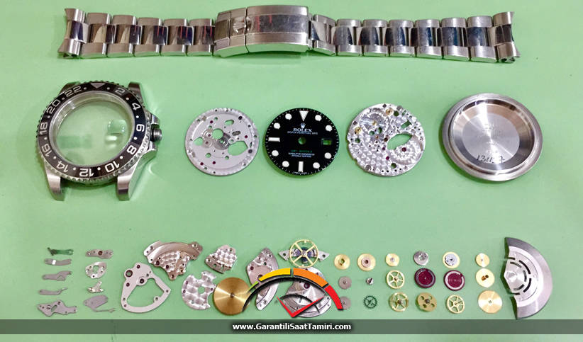 Rolex GMT-Master II Saat Tamir ve Bakımı - Rolex 3186 Kalibre