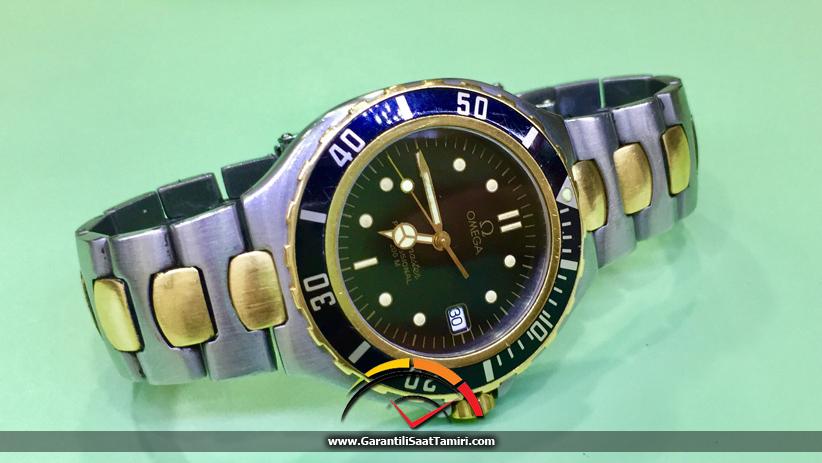 Omega Seamaster Professional 200M Saat Tamiri – Omega 1538 / Eta 255.461 Kalibre