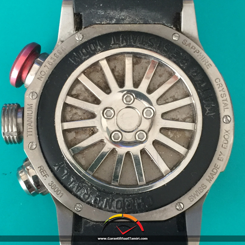 Edox Chronorally Ultrasonik Saat Temizliği