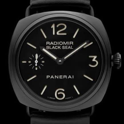 Panerai Radiomir Black Seal Ceramic Saat Tamir ve Bakım İşlemi